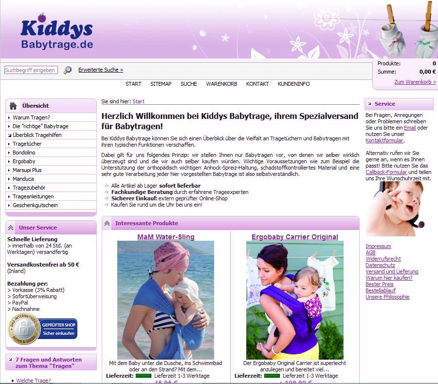 Redesign unserer Website